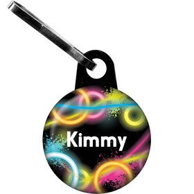Glow Party Personalized Zipper Pull (Each)