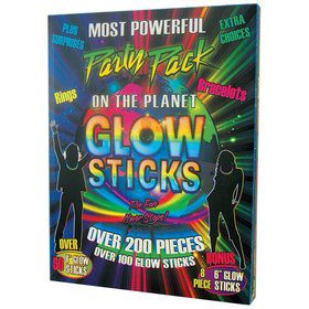 Glow Sticks Party Pack (Over 200 Pieces)