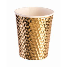 Gold 8oz Paper Cup (8)