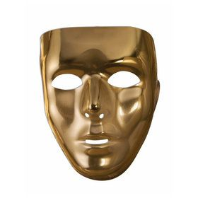 Gold Full Face Mask