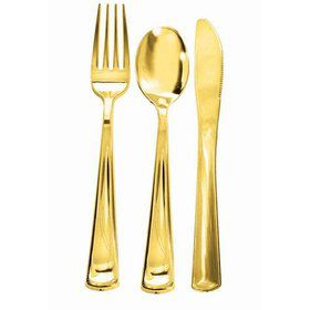 Gold Plated Forks (12)