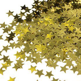 Gold Star Confetti .5oz (Each)