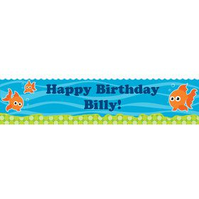 Goldfish Personalized Banner (each)