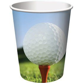 Golf 9oz Cups (8 Pack)