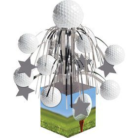Golf Mini Cascade Centerpiece Decoration (Each)