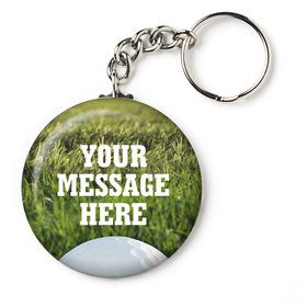 "Golf Personalized 2.25"" Key Chain (Each)"