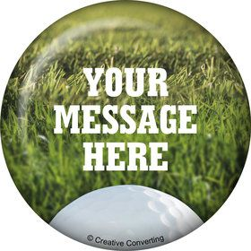 Golf Personalized Button (Each)