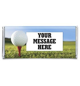 Golf Personalized Candy Bar Wrapper (Each)