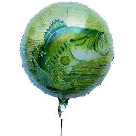 "Gone Fishin' 18"" Balloon (1)"