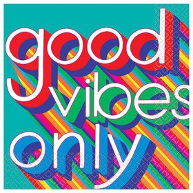 Good Vibes Lunch Napkin (16)