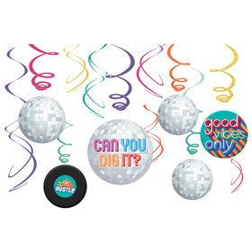 Good Vibes Swirl Decoration Value Pack (12pc)
