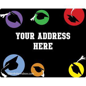 Grad Party Personalized Address Labels (Sheet of 15)