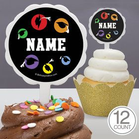 Grad Party Personalized Cupcake Picks (12 Count)