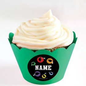 Grad Party Personalized Cupcake Wrappers (Set of 24)