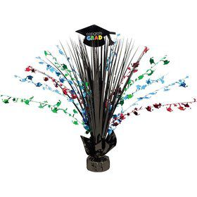 "Grad Spirit 15"" Foil Spray Centerpiece (Each)"