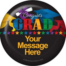 Grad Spirit Personalized Magnet (Each)