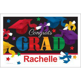 Grad Spirit Personalized Placemat (Each)