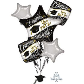 Graduation Balloon Bouquet - On Your Way