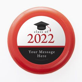 Graduation Day Red Personalized Mini Discs (Set Of 12)