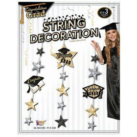 Graduation Hanging String Decoration