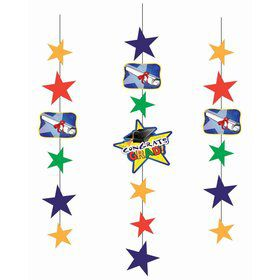 Graduation Icon Hanging Decorations (3pcs)