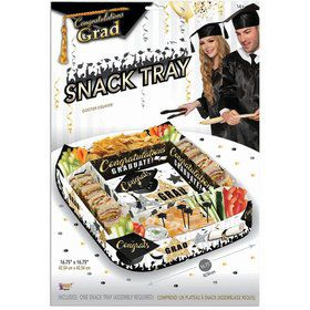 Graduation Paper Snack Tray