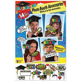 Graduation Photo Booth Set (14pc)
