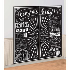 Graduation Scene Setter Wall Decorating Kit