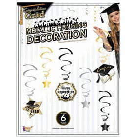 Graduation Swirl Hanging Decoration