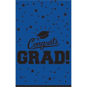 Graduation Table Cover Blue Each