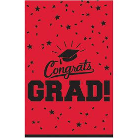 Graduation Table Cover Red Each