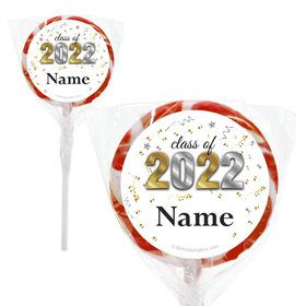 "Graduation Year Personalized 2"" Lollipops (20 Pack)"
