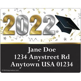 Graduation Year Personalized Address Labels (Sheet of 15)