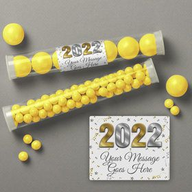 Graduation Year Personalized Candy Tubes (12 Count)