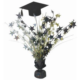 "Grap Cap & Star 18"" Centerpiece"