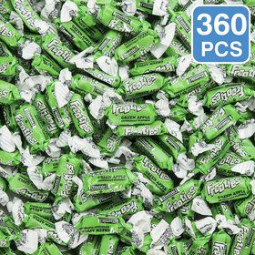 Green Apple Frooties Tootsie Rolls (360 Pieces)
