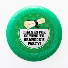Green Grad Personalized Mini Discs (Set Of 12)