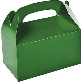 Green Treat Favor Boxes (12)