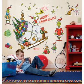 Grinch Wall Decals