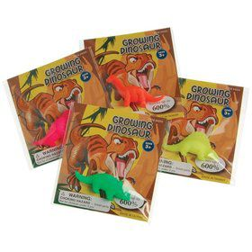 Growing Dinosaur Favor (12 Pack)