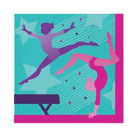Gymnastics Party Lunch Napkins (16)