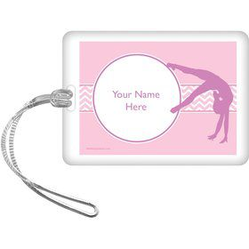 Gymnastics Personalized Bag Tag (Each)