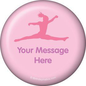 Gymnastics Personalized Button (Each)