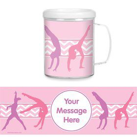 Gymnastics Personalized Favor Mug (Each)