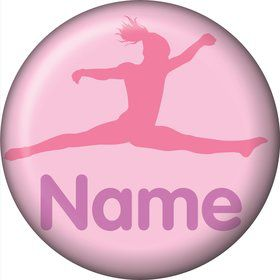 Gymnastics Personalized Mini Magnet (Each)