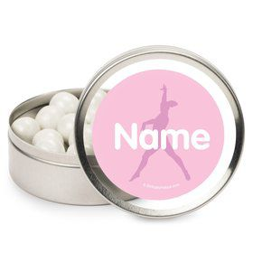 Gymnastics Personalized Mint Tins (12 Pack)