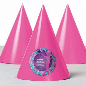 Gymnastics Personalized Party Hats (8 Count)
