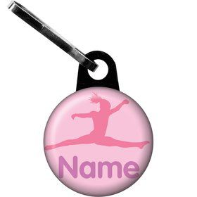 Gymnastics Personalized Zipper Pull (Each)