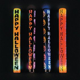 Halloween Flashing Light-Up Batons (12)