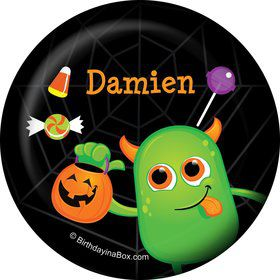 Halloween Personalized Button (Each)
